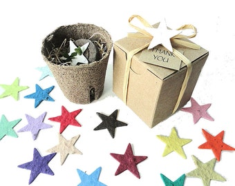 25 Birthday Party Favor Stars Fun Education Kids Children Gifts Colorful Colors