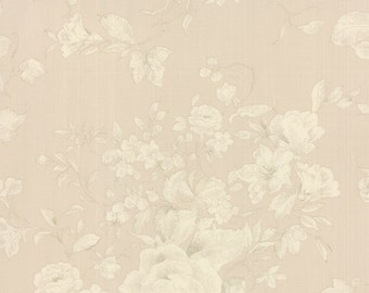 Ecru Floral Evening Mist Fabric - Moda - Sentimental Studios - 32992 14