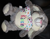 Personalized Stuffed Animal Cubbies- Easter Bunny, Duck, or Lamb