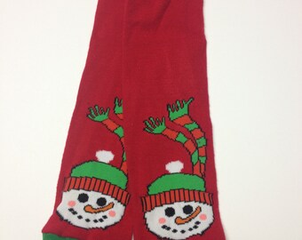 Baby Toddler Child Leg and Arm Warmers -Frosty The Snowman