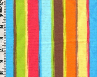 Fabric Marcus Monkey Mates Kids  vertical lengthwise stripe coordinate