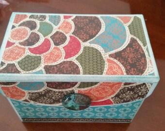 Blossoming box and Mini-Album