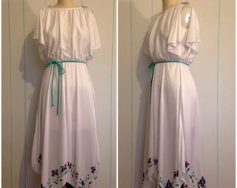 Floral Handkerchief Dress Size7