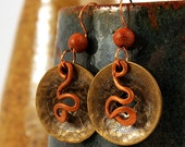 Coin Jewelry, Coin Earrings, Ethnic Jewelry, Ancient Jewelry