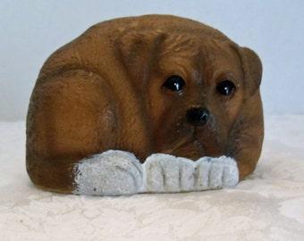 Puppy Dog Figurine