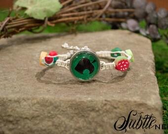 Sale: Nook's Leaf Fruit Bracelet
