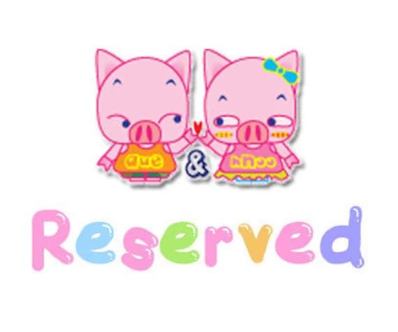 reserved for Brinda Compton