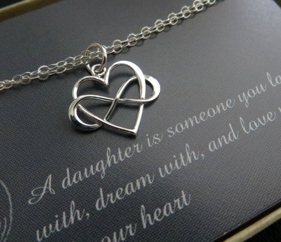 Gift For Mom On My Wedding Day : gift for daughter from mom on wedding day, infinity heart bracelet ...