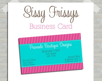 Business Card - Digital File - Business Card File - Earring Card - Jewelry Card - Hang Tag - Mom Card - Play Date Card - 212276620