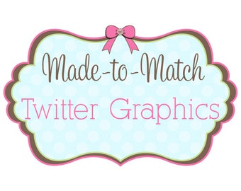 Made to Match - Twitter Cover - Twitter Profile Picture - Color Swatches - Twitter Background Image - Social Media Branding