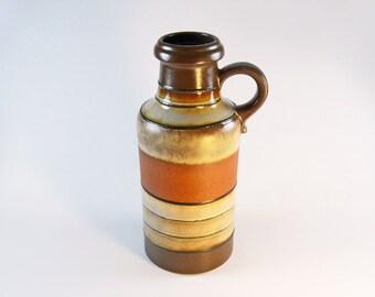 Mid Century Scheurich West German Pottery Vase 1960's Mod