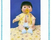 Vtg 1980 Miss Martha Originals JONATHAN Soft Scupture Baby Doll Pattern UNCUT