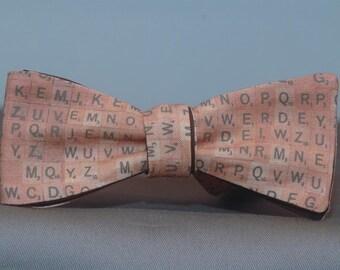 Mini Scrabble Tiles  Bow tie