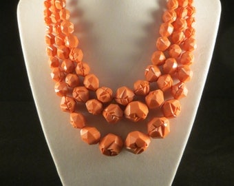 Peaches and Cream Necklace