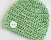 Newborn girl 0-3 months baby hat beanie pastel infant hat baby photo prop Ready To Ship