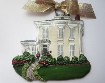 Custom Listing for DandylionDream- one Custom House Ornament- a cherished keepsake of your home
