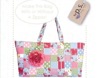 Sale!  City Zipper bag pattern (PS030) - Quilts Ilustrated