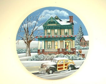 Family Home for Holiday Gathering Decorative Art 16
