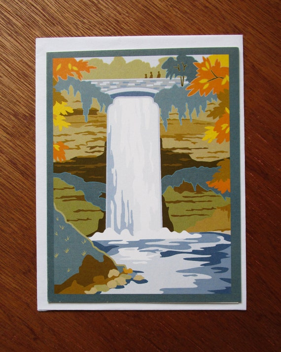 Minneapolis, Minnehaha Falls Note cards