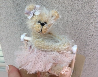Doris mohair ballerina from Shaz Bears