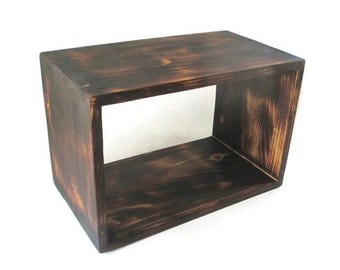 Rustic Decor - Floating Nightstand - Shelf - Custom Furniture