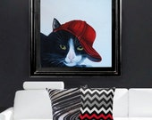 Custom Cat Portraits  Animal Portraits  Cats in Clothes Paintings Pet Paintings Cat Paintings  by k Madison Moore