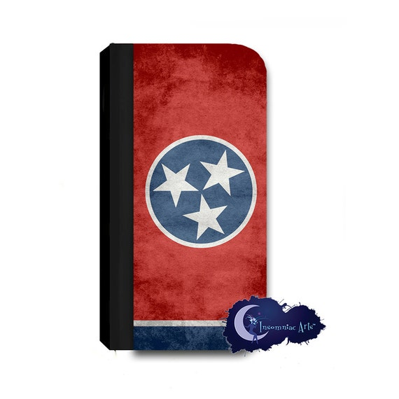 Tennessee Flag Wallet Case for iPhone