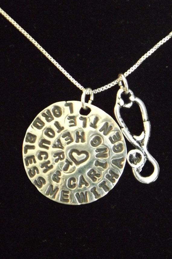 s prayer necklace necklace stethoscope