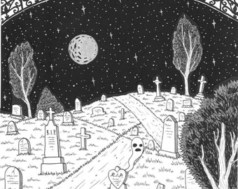Cemetery Gates Zine