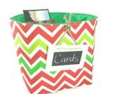 Christmas Basket, Card Holder, Gift Basket