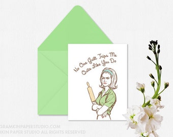Guilt Trip - Single Mother's Day Card
