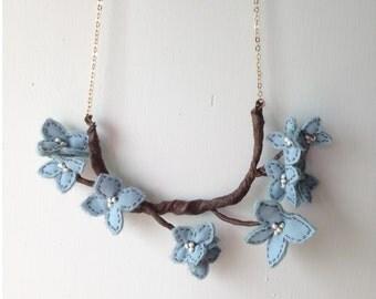 Sprig Floweret Necklace (BSR2)