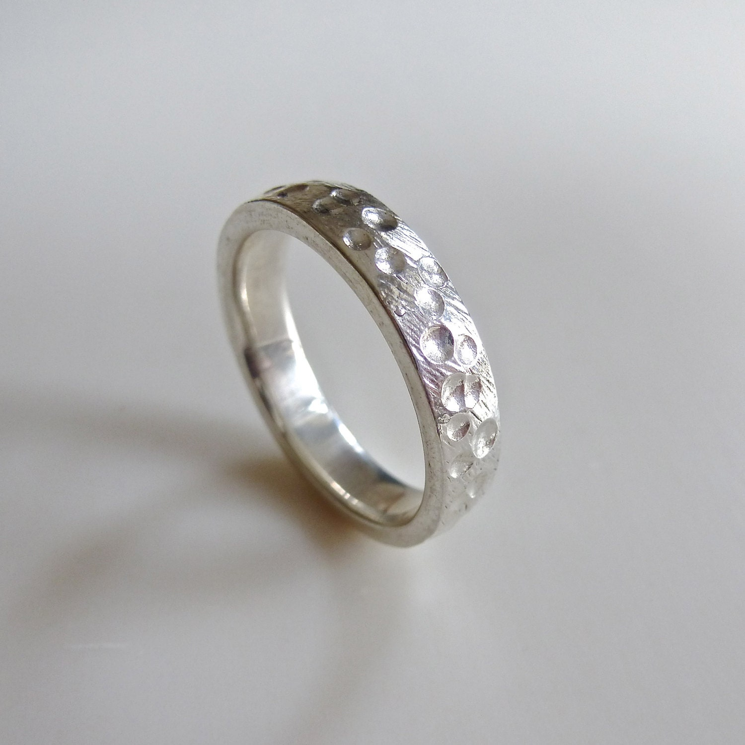Volcano Rock Mens Wedding Ring Made To Order In By