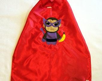 Team Super Animals - Banana Monkey Red Cape
