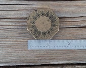Vintage Bronze Tribal Jewelry Jeweler Stamp Pendant Die Mold