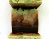 FOREST / Handmade Cold Process Organic Soap / Woodland Vegan Soap Bar