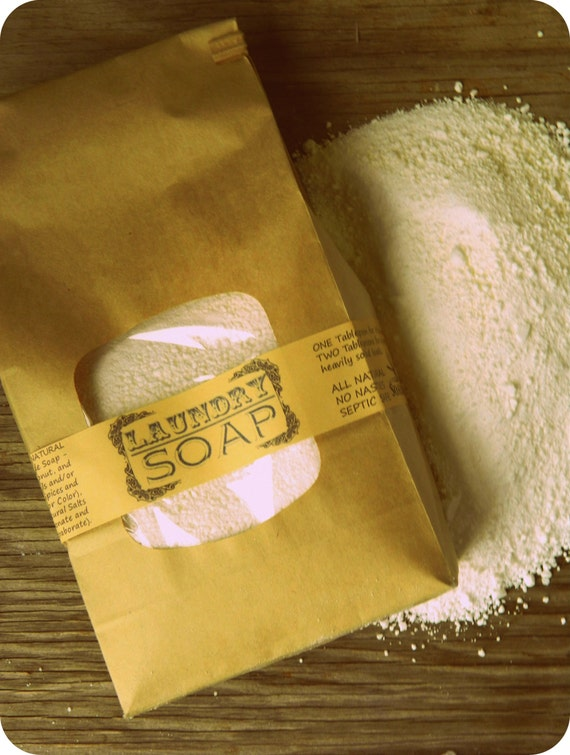 You Choose Scent / Natural Laundry Detergent / Homemade Laundry Detergent