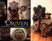 Driven: the Edwardian Cyborg Wheelchair  4 x 6 photographic print