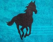 2 Horse towels