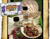 Rose Holy Water - gathered from the Oblate Grotto Spring in San Antonio, scented w red rose essential oil
