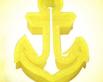 Mini  Anchor Cookie Cutter,  Anchors aweigh, Sailing, boating cookie cutter