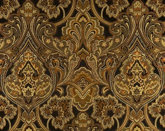 Drapery Panel in Hollyhock Jacquard, 3 Colors Available
