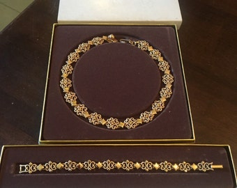 Vintage Avon Jewelry Set