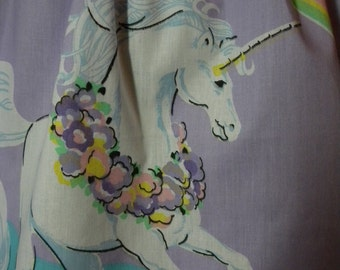 Vintage Unicorn Mini Skirt