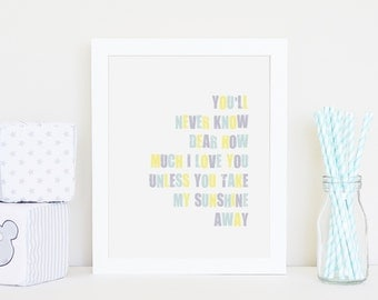Never know - 8 by 10 inch print