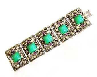 Selro Unsigned Suffragette Color Bracelet
