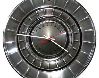 Classic Car Wall Clock - 1968 Chrysler New Yorker Newport Hubcap Clock