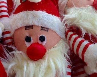 Vintage 1950s Jingle Rattle Santa Claus Japan Fun Fair San Francisco