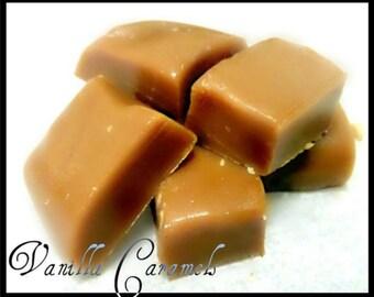 Vanilla Caramels; 1/2 Pound Block
