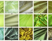 Luxurious Dupioni Silk Custom Pillow Covers Made from the Finest Pure Hand Made Dupioni Silk - Green